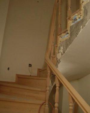 ahşap-merdiven